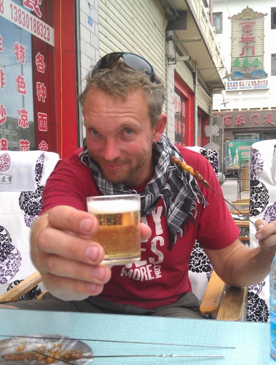 Big man - Tiny Beer Glass