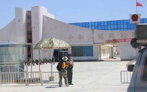 Chinese military limbering up to search us