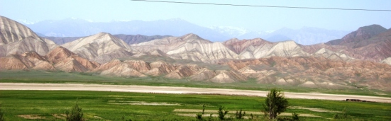 Views from the route to Bishkek