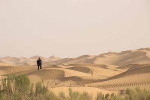 Jens in the dunes