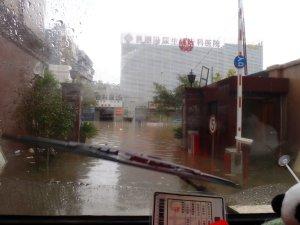 Flood Windscreen View