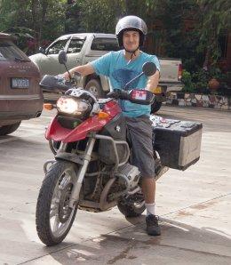 Nice Bike - Dodgy Helmet