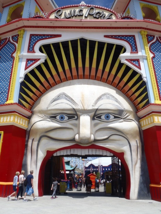 The fun fair gateway